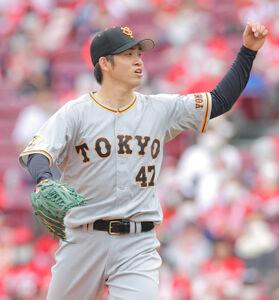 3回2死満塁、鈴木誠也を空振り三振にした高橋優貴