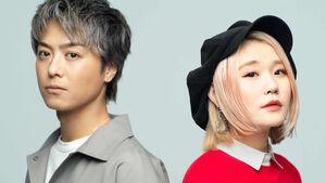 タッグを組んだEXILE TAKAHIROとハラミちゃん