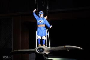 歌舞伎版「風の谷のナウシカ」でナウシカ役の尾上菊之助(C)松竹