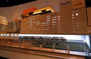 36分間で「小田急沿線の1日」を体感できるミュージアム内「ジオラマパーク」