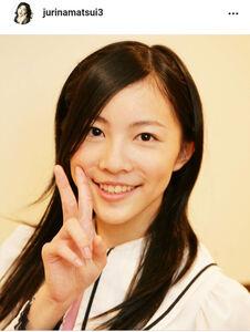 松井珠理奈のインスタグラム(@jurinamatsui3)より