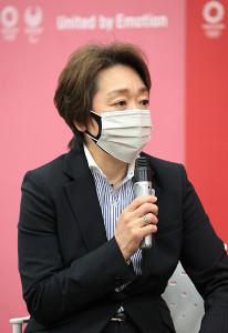 組織委の橋本聖子会長(代表撮影)