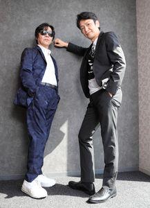 音楽活動を再開した「To Be Continued」の岡田浩暉(右)と後藤友輔