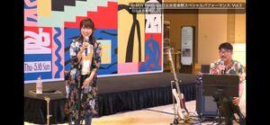 日比谷音楽祭への意気込みを語った亀田誠治氏と新妻聖子