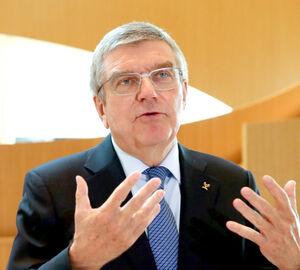IOCバッハ会長(ロイター)