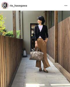 長谷川理恵のインスタグラム(@rie_hasegawa)より
