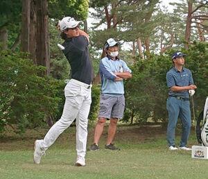 アジアパシフィックオープンダイヤモンドカップ前日に練習ラウンドした石川遼