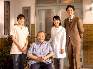 吉永の122本目の映画「いのちの停車場」よりⒸ2021「いのちの停車場」製作委員会