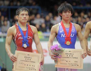 樋口黎(右)と高橋侑希