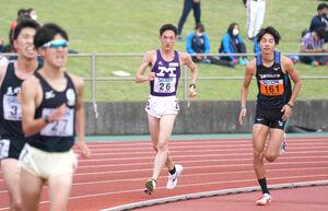関東インカレ2部1万メートル競歩を制した明大・古賀