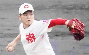 智弁和歌山の中西聖輝は、3安打で完封勝利した