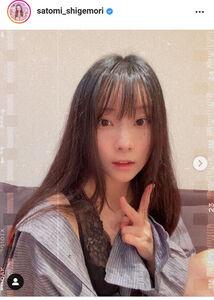 重盛さと美のインスタグラムより@satomi_shigemori