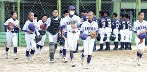 初戦をコールド勝ちした和歌山有田ナイン