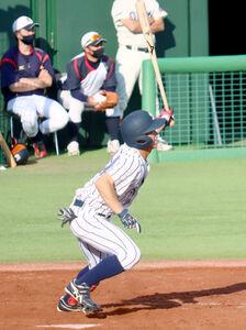 5打数3安打1打点だった仙台大の辻本