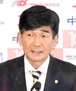 日本陸上競技連盟の尾県貢専務理事