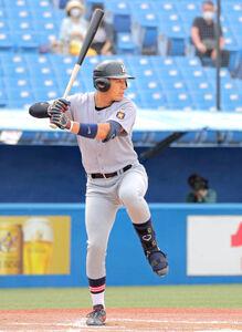 非凡な才能を見せた慶大の1年生、清原正吾内野手