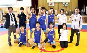 団体戦で初優勝、初の高校総体での健闘を誓う千歳北陽チーム