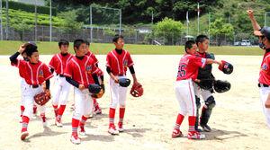 決勝トーナメント進出を決めた和歌山北ナイン