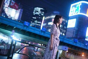 昼間とは異なった表情を見せた香川愛生女流四段(カメラ・矢口 亨)