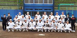 県大会に向けて意気込む富士市立の選手たち
