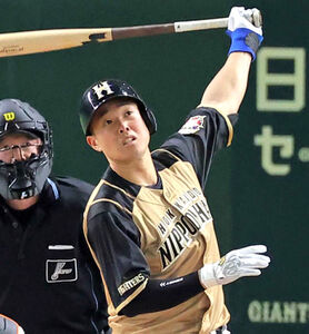 日本ハムの高浜祐仁内野手