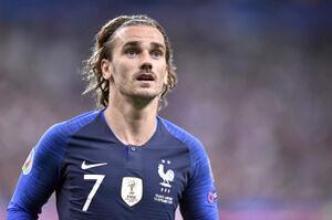 フランス代表のグリズマン(C)Getty Images