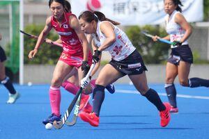 ホッケー女子日本代表「さくらジャパン」の主将に任命された真野由佳梨