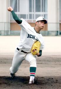 市和歌山の小園健太投手(3年)は17三振を奪い完投勝利を収めた