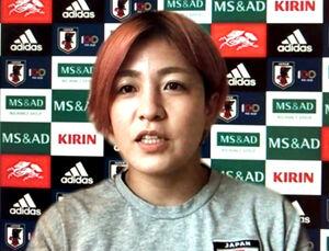 なでしこジャパンのGK池田咲紀子