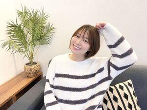 公式YouTubeチャンネル「かやちゃんねる」を開設したフジテレビ系「めざましテレビ」の7代目お天気キャスターを務める阿部華也子