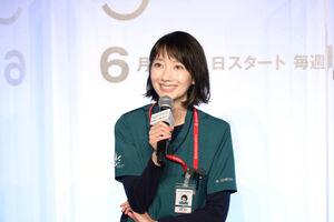 主演ドラマの会見で誕生日を祝われた波瑠