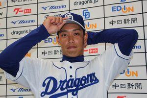 ロッテからトレードで移籍した中日・加藤翔平