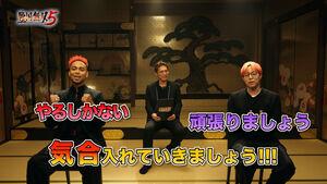 動画に出演した(左から)NESMITH、SHOKICHI、世界