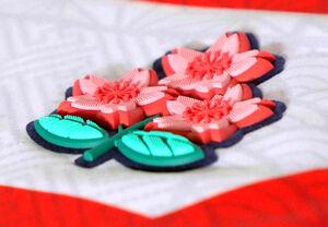 日本代表の桜のエンブレム