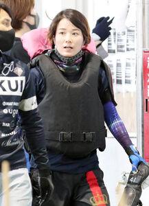 今節、ただ一人の女子レーサーとして出場する平高奈菜
