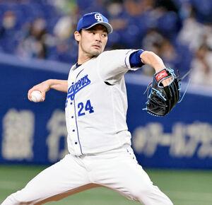 先発・福谷浩司は7回2失点で4勝目
