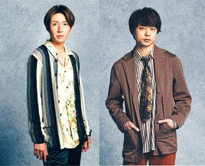 東京五輪・パラリンピックでNHKのスペシャルナビゲーターを務める相葉雅紀(左)と櫻井翔
