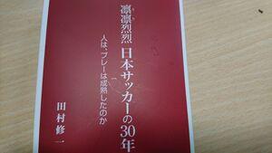 「凜凜烈烈 日本サッカーの30年:人は、プレーは成熟したのか」