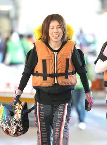 田口はセンスあふれるターンで女子ボート界を長くリードしてきている