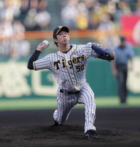 7回2失点にまとめた阪神先発・青柳晃洋