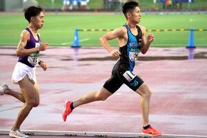 力走する駿河台大の30歳ランナー・今井