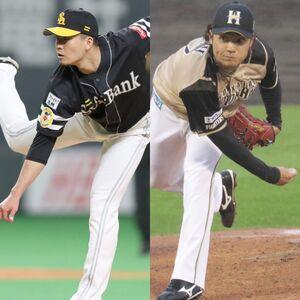 代替選手として発表されたソフトバンク・千賀、日本ハム・伊藤
