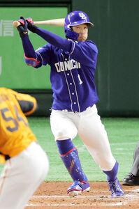 3回1死二塁、京田陽太が左前適時打