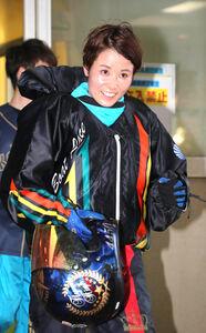 女子として初めて同大会優出を決めた平高奈菜