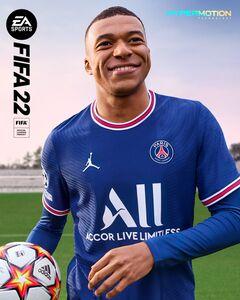『FIFA22』のキービジュアル