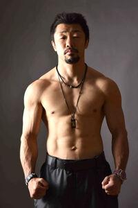 元世界3階級制覇王者の八重樫東トレーナー(提供写真)