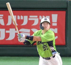8回2死二塁、村上宗隆がこの日2本目の本塁打となる26号2ランを放つ
