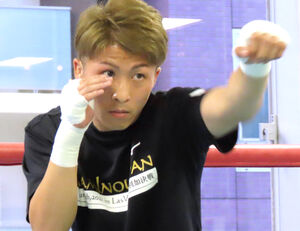 本格的な練習を再開した井上尚弥