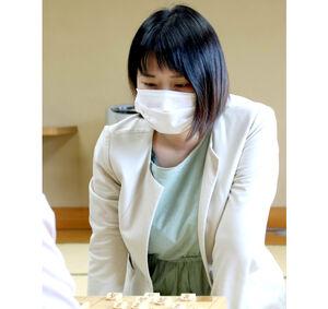 清麗挑戦を決めた加藤桃子女流三段