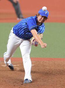 5回に登板する、4番手・三嶋一輝
